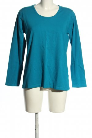 Via Appia Longsleeve blau Casual-Look