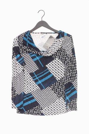 Via Appia Longsleeve-Shirt Größe 40 neu mit Etikett Langarm blau aus Viskose