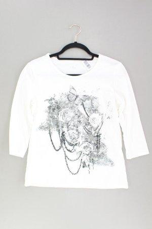 Via Appia Printshirt Größe M 3/4 Ärmel weiß