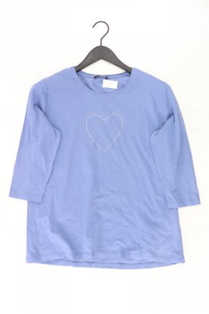 Via Appia Shirt Größe 46 3/4 Ärmel blau aus Baumwolle