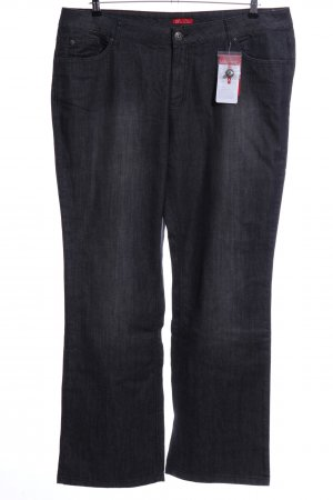 Via Appia Straight-Leg Jeans schwarz Casual-Look