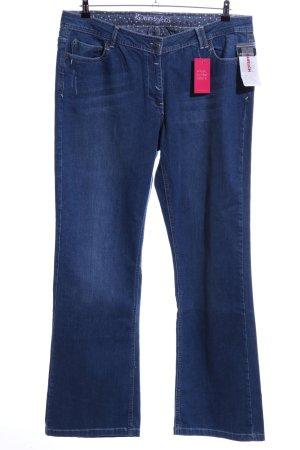 Via Appia Straight-Leg Jeans blau Casual-Look