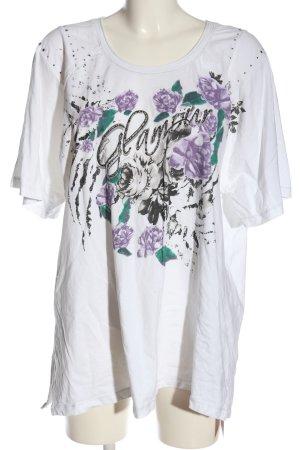 Via Appia T-Shirt Motivdruck Casual-Look