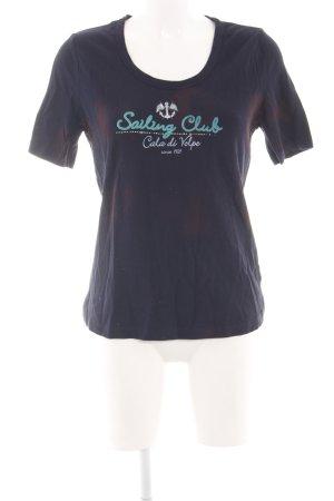 Via Appia T-Shirt Batikmuster Casual-Look