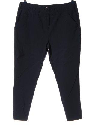 via cortesa Hoge taille broek zwart casual uitstraling