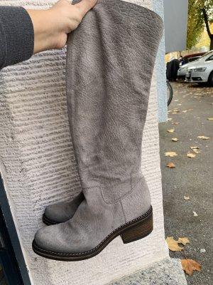 Via Overknee  Winter Schuhe hohe Stiefel gr 38 grau
