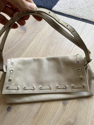 via repubblica Étui pour téléphone portable beige clair cuir
