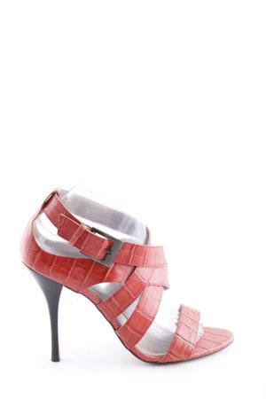 Via uno High Heel Sandaletten rot Casual-Look