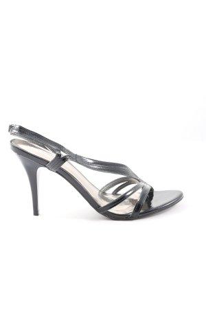 Via uno High Heel Sandaletten schwarz Casual-Look