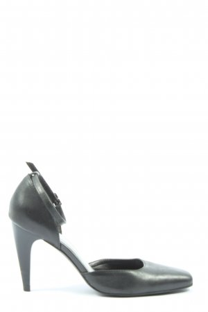 Via uno High Heels schwarz Casual-Look