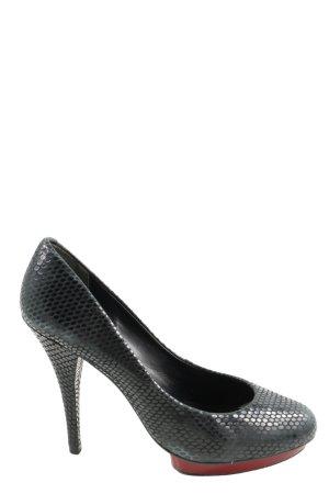 Via uno High Heels schwarz Elegant