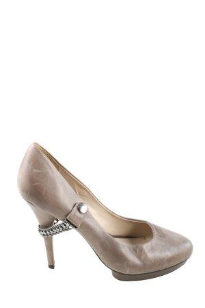 Via uno High Heels braun Casual-Look