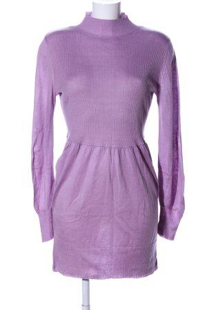 Viacortesa Vestido tipo jersey lila look casual