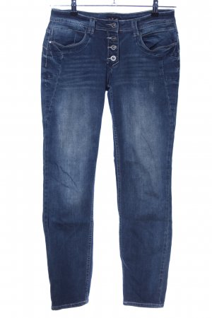 Viacortesa Straight-Leg Jeans blau Casual-Look