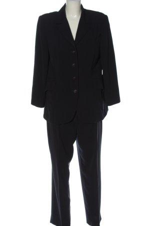 Viasassi Zakelijk pak zwart zakelijke stijl