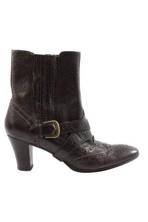 Vibram Booties braun-bronzefarben Casual-Look