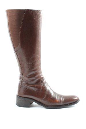 Vibram High Heel Stiefel braun Casual-Look