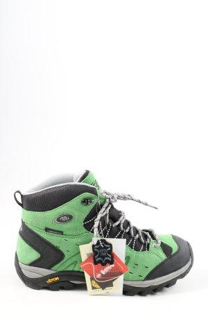 Vibram Krótkie buty zielony-czarny W stylu casual