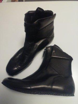Vibram  Leder Schuhe Gr 40,5 schwarz