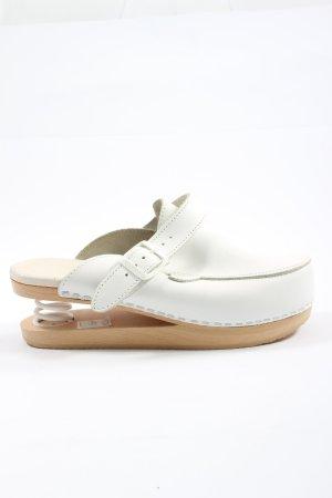 Vibram Sabots white casual look