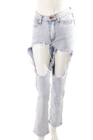 Vibrant Slim Jeans mit Cut-Outs