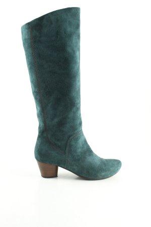 vic Absatz Stiefel blau meliert Casual-Look