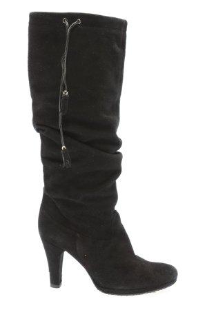 vic Absatz Stiefel schwarz Casual-Look