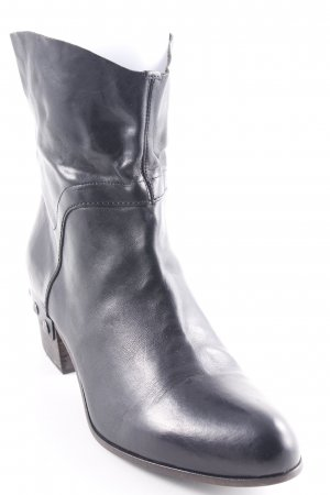 vic Ankle Boots schwarz Country-Look