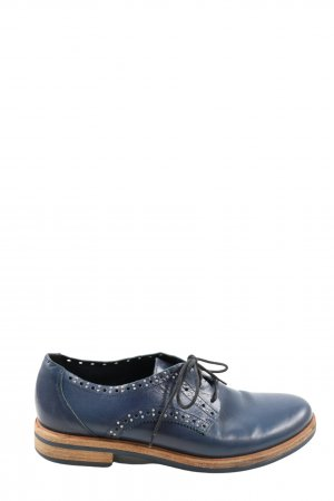 vic Derby blauw casual uitstraling