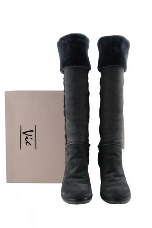 vic Fellstiefel anthrazit Casual-Look