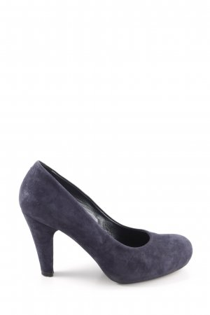 vic High Heels blau Business-Look