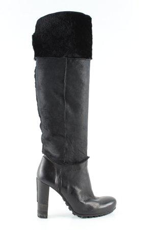 Vic Matie Absatz Stiefel schwarz Casual-Look