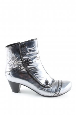 Vic Matie Ankle Boots silver-colored casual look