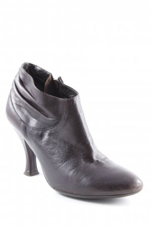 Vic Matie Ankle Boots dunkelbraun Casual-Look