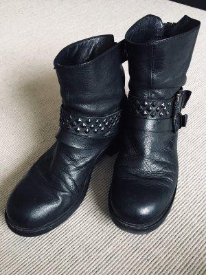 Vic Matie Biker Boots Stiefeletten Größe 40 schwarz