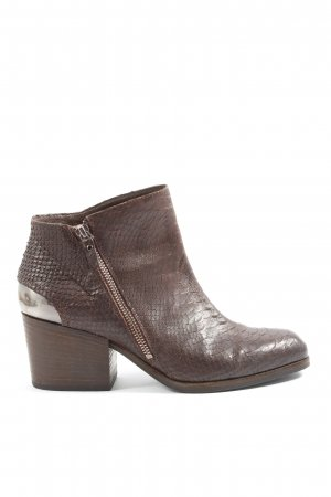 Vic Matie Booties braun Animalmuster Casual-Look