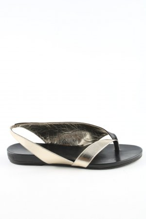 Vic Matie Dianette Sandals black-silver-colored casual look