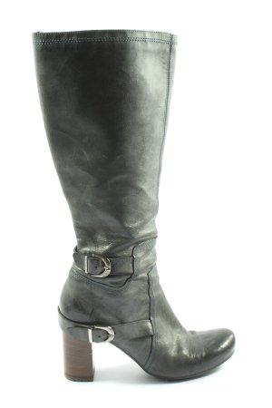 Vic Matie High Heel Stiefel khaki Casual-Look