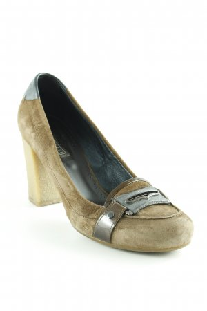 Vic Matie High Heels grüngrau-dunkelgrau Casual-Look