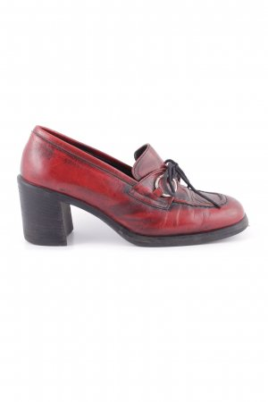 Vic Matie Hochfront-Pumps rot Casual-Look