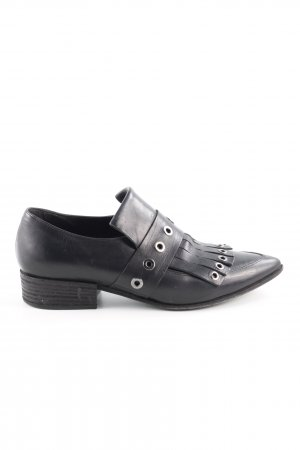 Vic Matie Slip-on Shoes black casual look