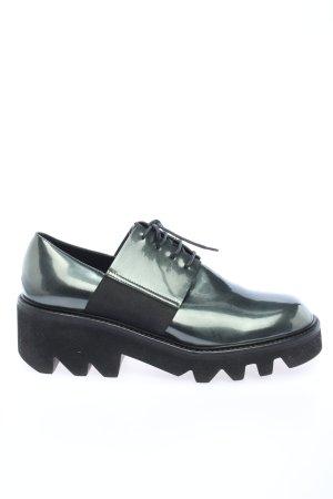 Vic Matie Schnürschuhe schwarz-grün Elegant