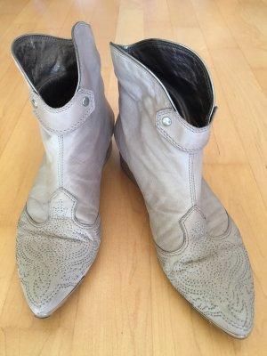 Vic Matie Slip-on Booties light grey