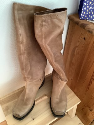 Vic Matie Slouch Boots camel