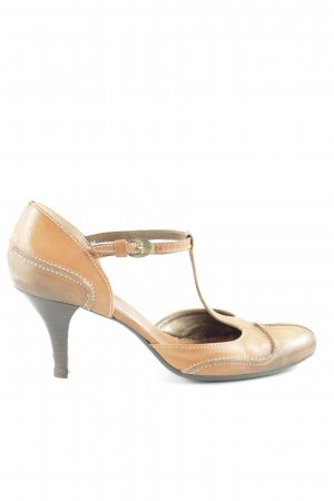 Vic Matie T-Strap Pumps brown-dark brown casual look