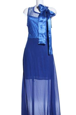Vicabo Abendkleid blau extravaganter Stil