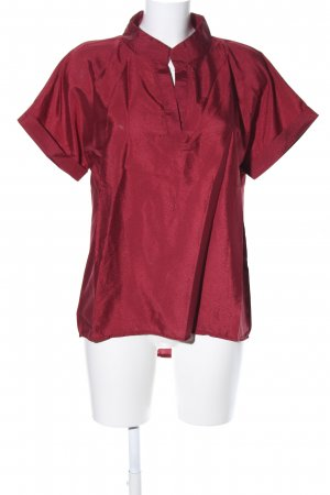 Vicabo Kurzarm-Bluse rot Casual-Look