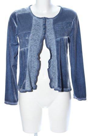 Viccio Barcelona Cardigan blau Casual-Look