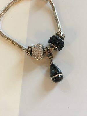 Viceroy Charm Bracelet silver-colored-black
