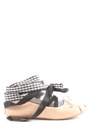 Vices faltbare Ballerinas Karomuster Casual-Look